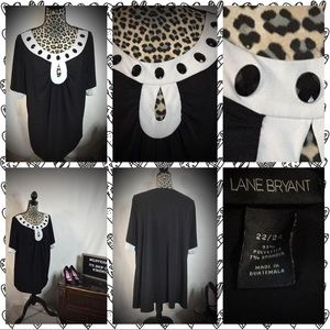 🖤🐾LANE BRYANT EMBELLISHED BLOUSE 🐾🖤